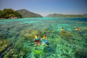 เกาะที่มีธรรมชาติ