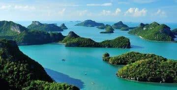หมู่เกาะภาคใต้