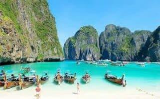 ที่เที่ยวเกาะพีพี